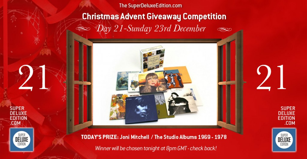 Christmas Advent Giveaway competition / Day 21: The Prize