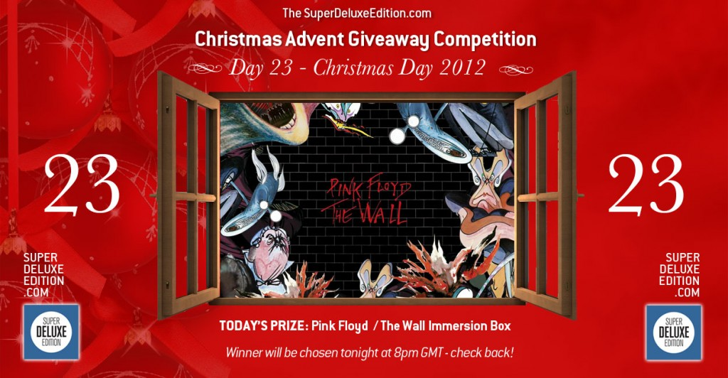 Christmas Advent Giveaway competition / Day 23: The Prize