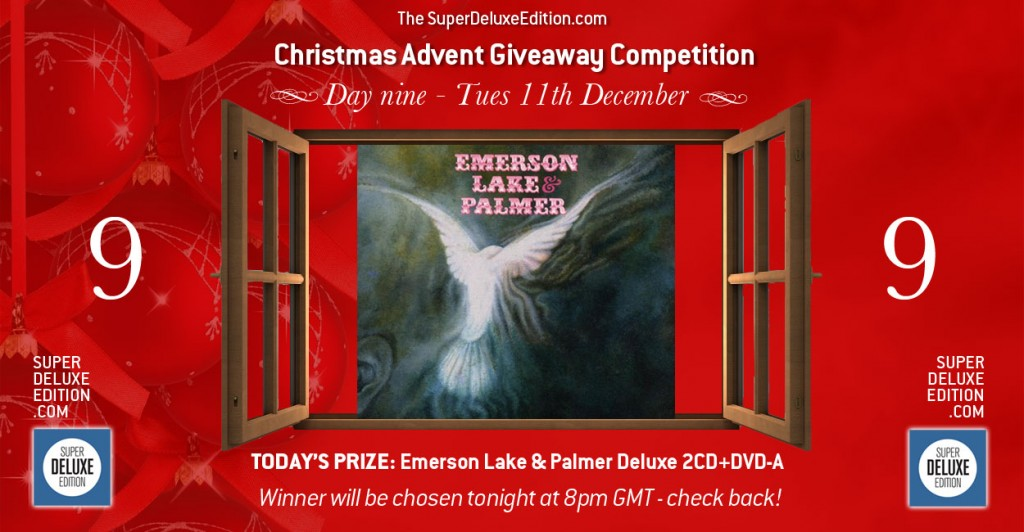 Christmas Advent Giveaway competition / Day Nine / The Prize
