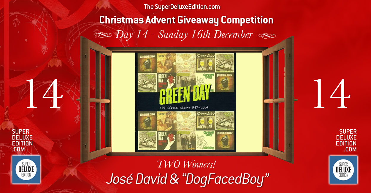 Christmas Advent Giveaway competition / Day 14: The Winners