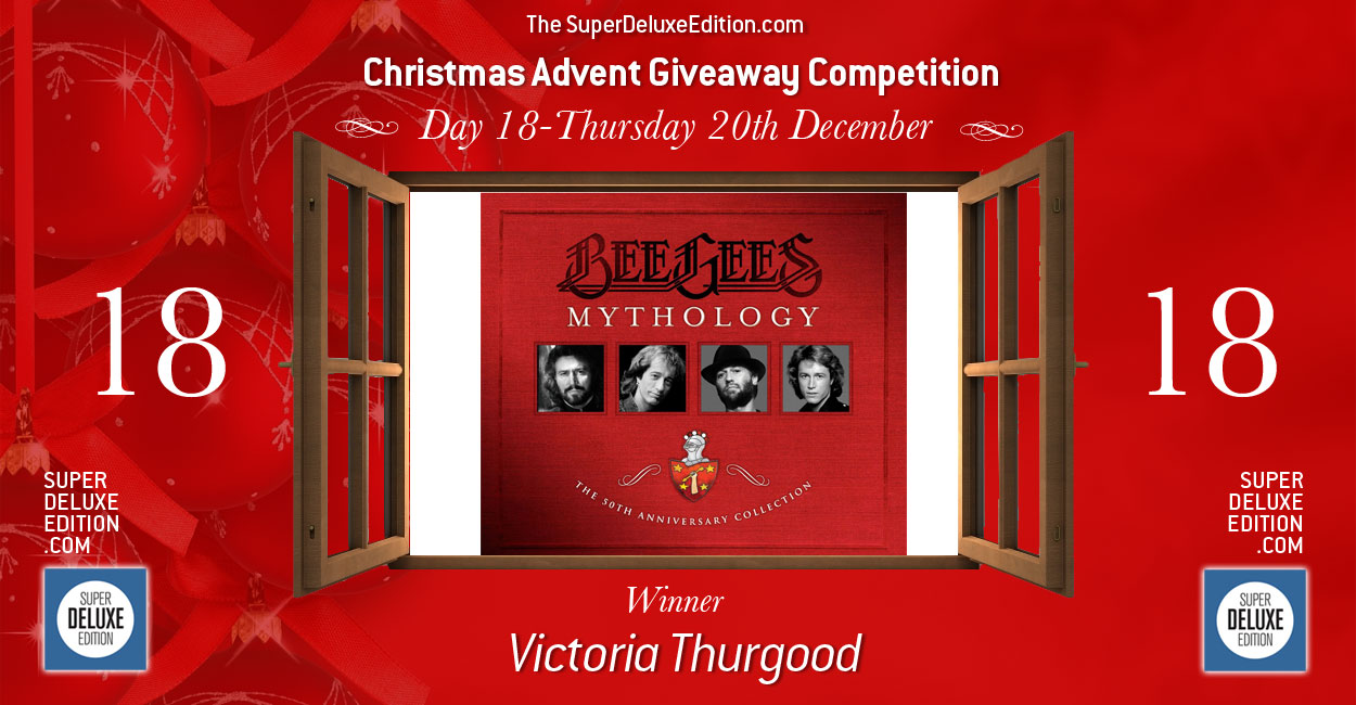 Christmas Advent Giveaway competition / Day 18: The Winner