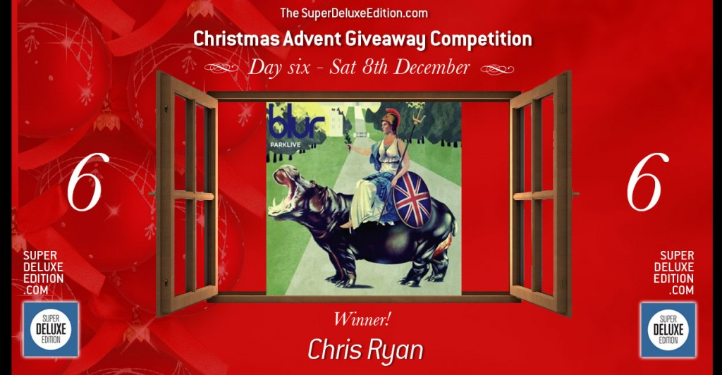 Christmas Advent Giveaway competition / Day Six: Winner