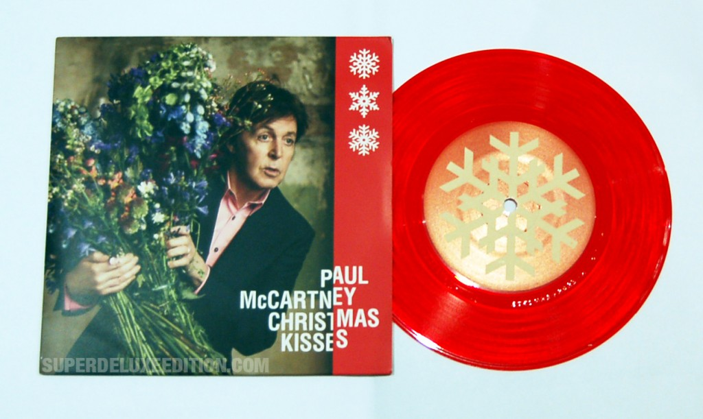 "Paul McCartney / Christmas Kisses red vinyl 7"" single"