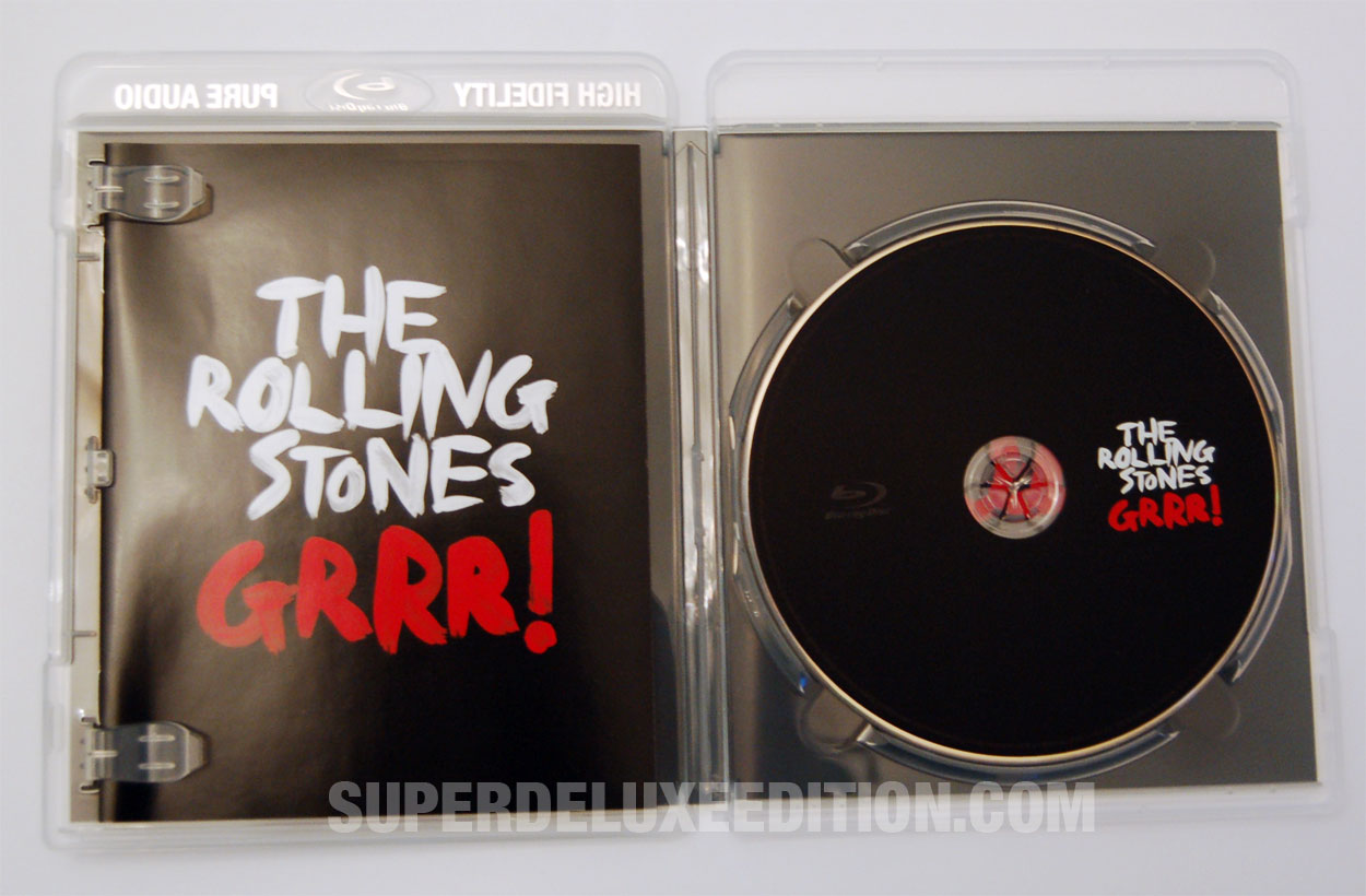 The Rolling Stones / GRRR! European Blu-ray release