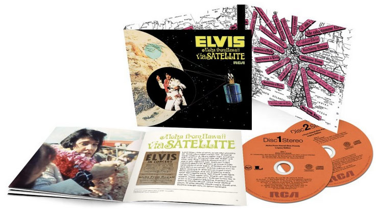 Elvis / Aloha From Hawaii Via Satellite 40th Anniversary Legacy Edition