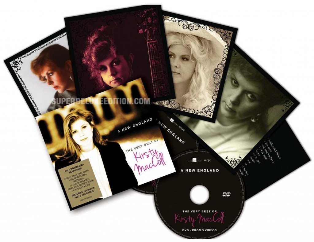 A New England: The Very Best Of Kirsty MacColl amazon.co.uk exclusive with DVD