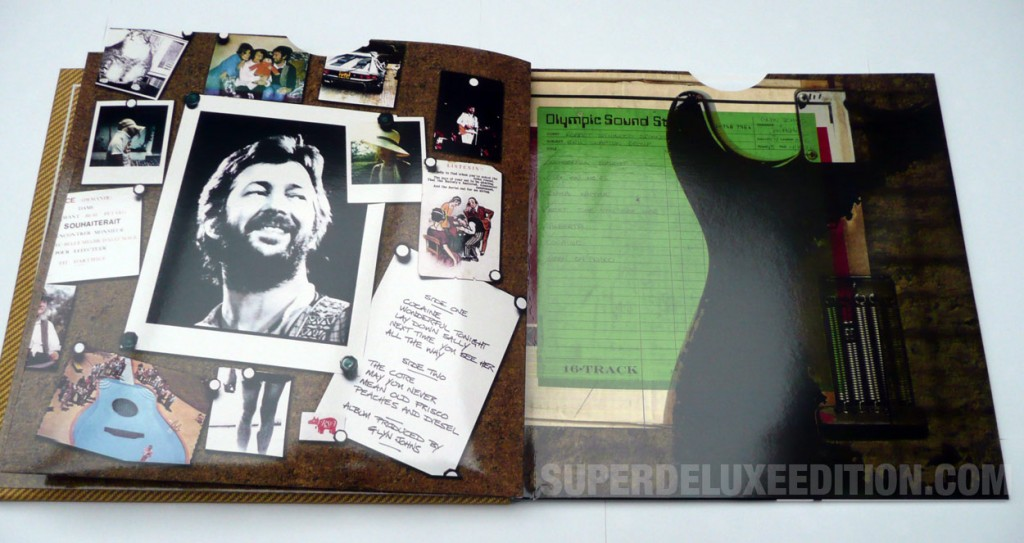 Eric Clapton / Slowhand super deluxe edition pictures