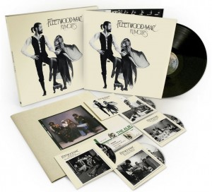 Four CDs, a DVD and vinyl in the deluxe box