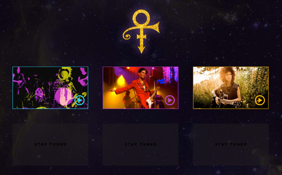 "Prince returns with new website and new song ""Screwdriver"""
