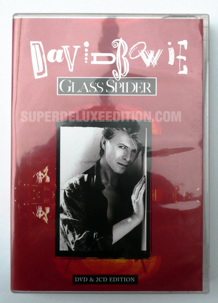 David Bowie / Glass Spider 2CD+DVD
