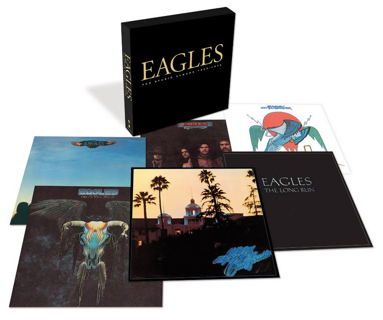 The Eagles / Studio Albums 1972-1979 box set