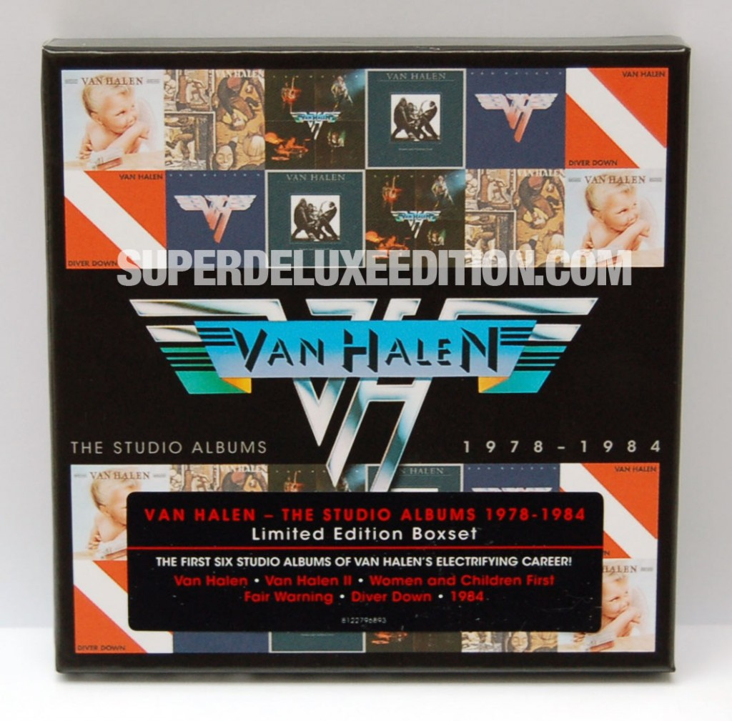 WIN! Van Halen / Studio Albums 1978-1984 limited edition box set