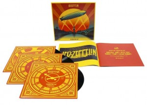 Led Zeppelin / Celebration Day triple deluxe vinyl set
