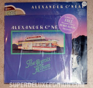 Original Alexander O'Neal LP with bonus remix album