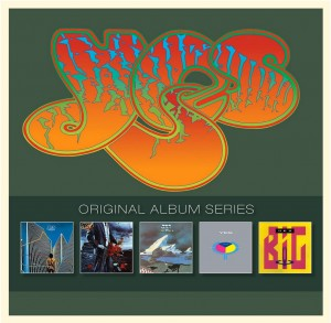 Yes / Original Album Series 5CD collection