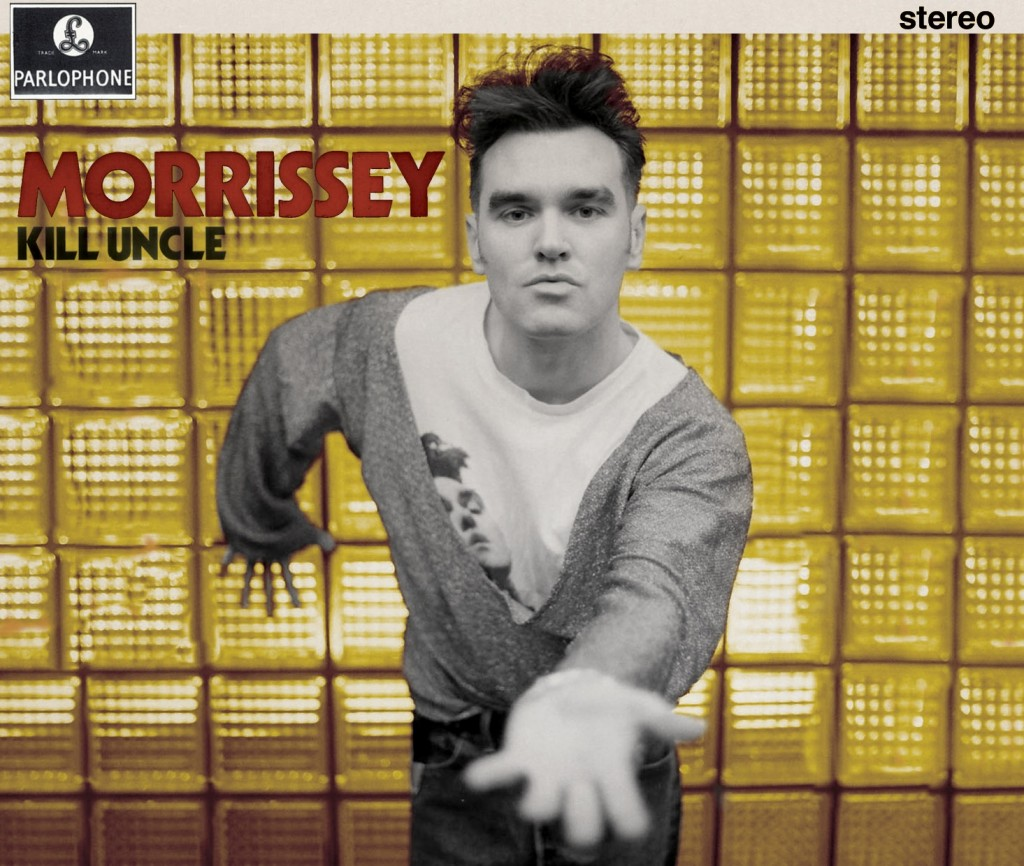 Morrissey / Kill Uncle reissue / new sleeve design