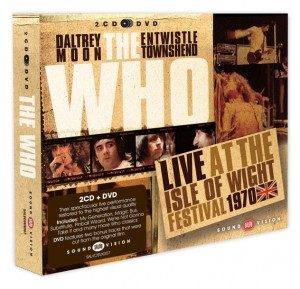 The Who live at the Isle Of Wight Festival 1970 2CD+DVD