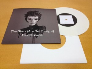 David Bowie / The Stars (Are Out Tonight) white vinyl