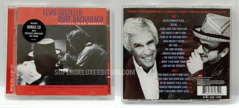 Elvis Costello and Burt Bacharach / Painted From Memory deluxe edition