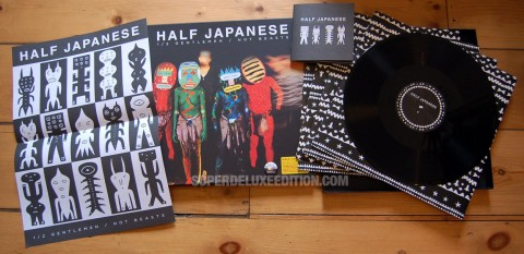 Half Japanese / 1/2 Gentlemen / Not Beasts 4LP box set