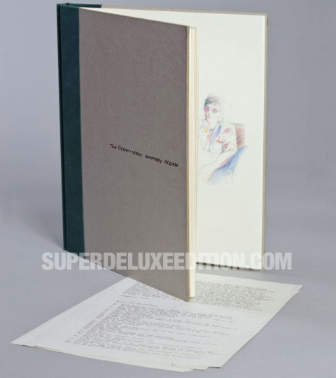 Paul McCartney / Wings Over America deluxe The Ocean View book