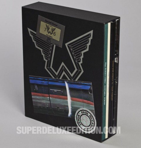 Paul McCartney / Wings Over America deluxe slipcase