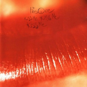 The Cure / Kiss Me Kiss Me Kiss Me red vinyl RSD