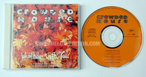 Crowded House / Weather With You / Japanese CD single