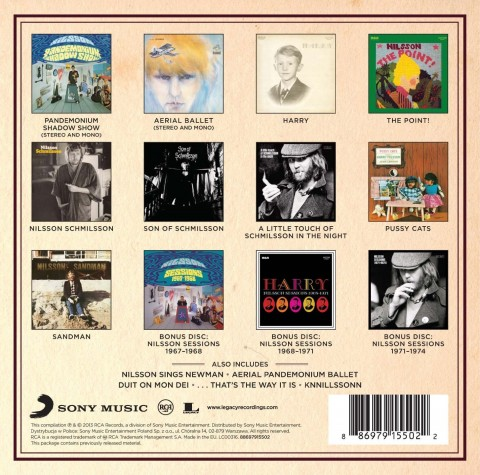 Nilsson / The RCA Albums Collection box set