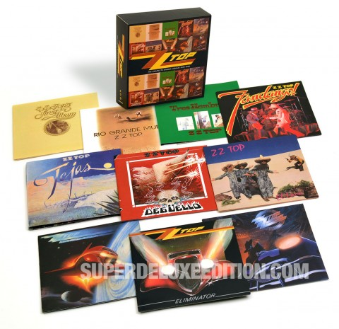 ZZ Top / The Studio Albums 1970-1990 box set with original mixes