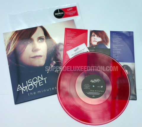 Alison Moyet / The Minutes red vinyl