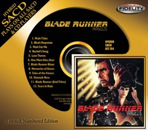 Vangelis / Blade Runner Hybrid SACD from Audio Fidelity