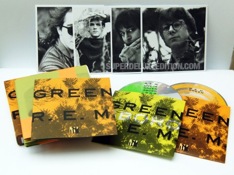 R.E.M. / Green 25th Anniversary reissue
