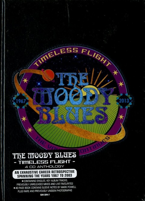 The Moody Blues / Timeless Flight 4CD box