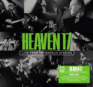 Live From Metropolis CD+DVD Heaven 17