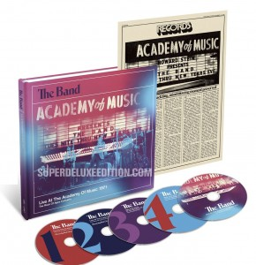 The Band / Live At The Academy Of Music 1971 5-disc box set
