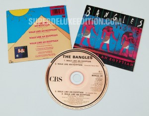 The Bangles / Walk Like An Egyptian 1990 CD single
