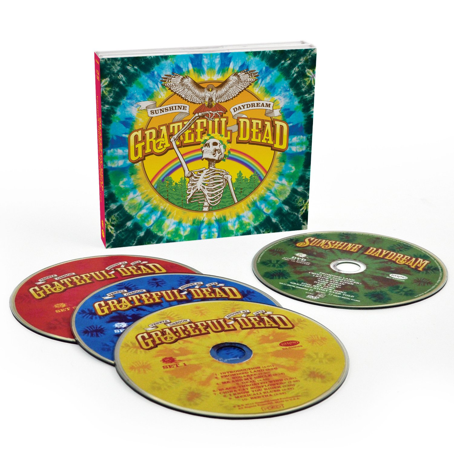 The Grateful Dead / Sunshine Daydream 3CD+DVD