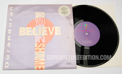 Second Hand News / August 2013: Duran Duran / Do You Believe In Shame 10""