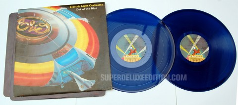 Second Hand News / August 2013: ELO Out Of The Blue - Blue Vinyl