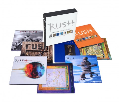 Rush / The Studio Albums 1989-2007 box set
