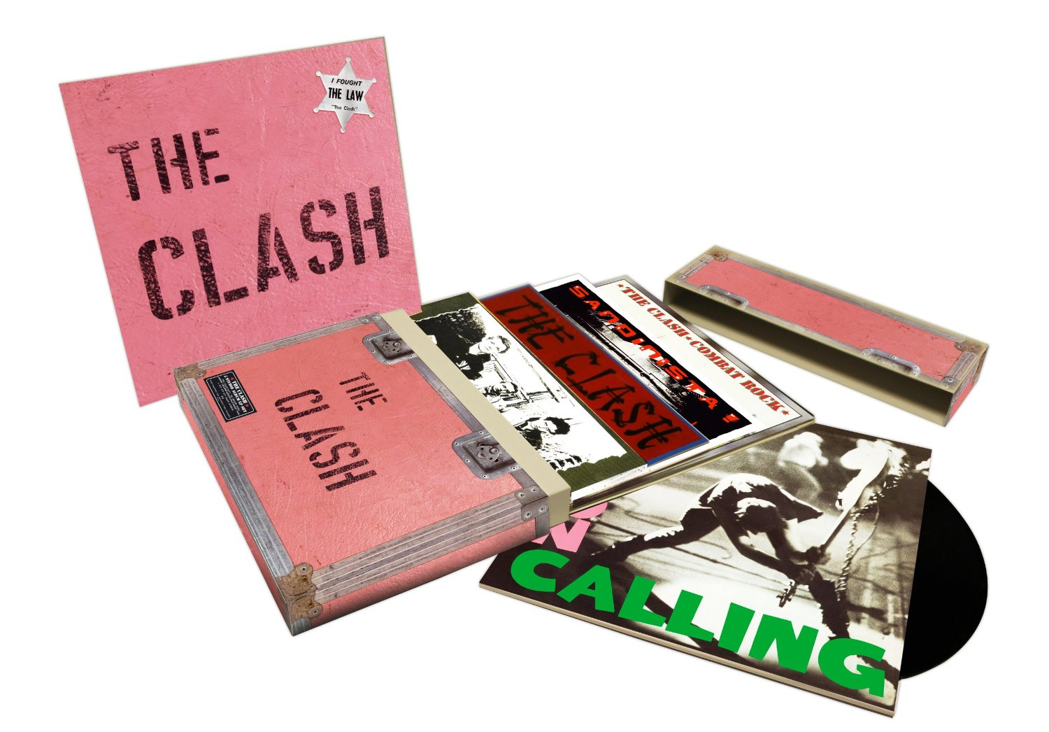 The Clash 5 Studio Albums box set