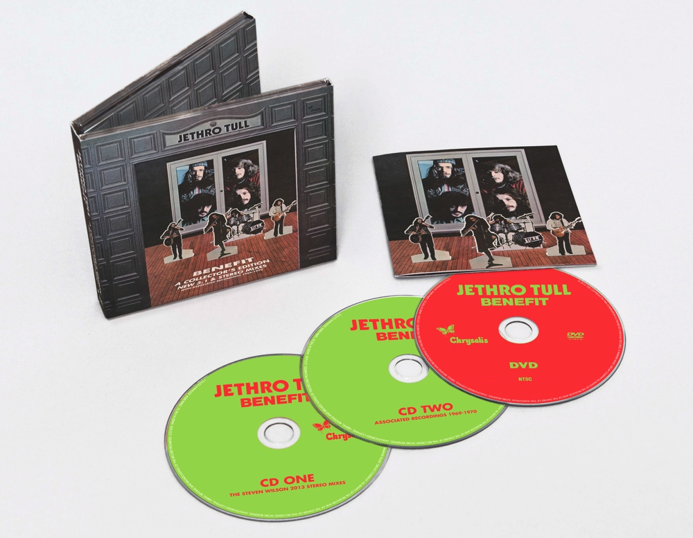 Jethro Tull / Benefit 2CD+DVD Collector's Editon