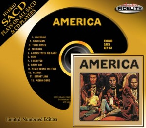America / Eponymous debut album on hybrid SACD