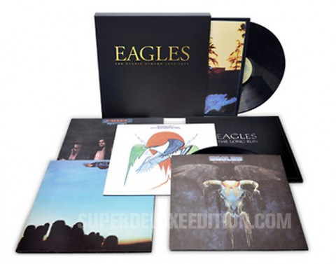 "The Eagles / ""The Studio Albums 1972-1979"" limited edition vinyl box"