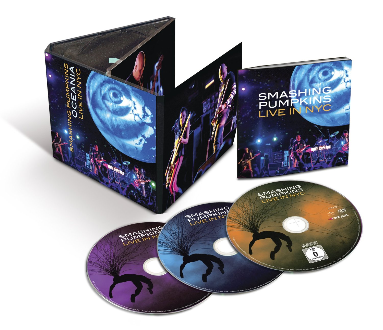 The Smashing Pumpkins / Oceania: Live In NYC 2CD+DVD