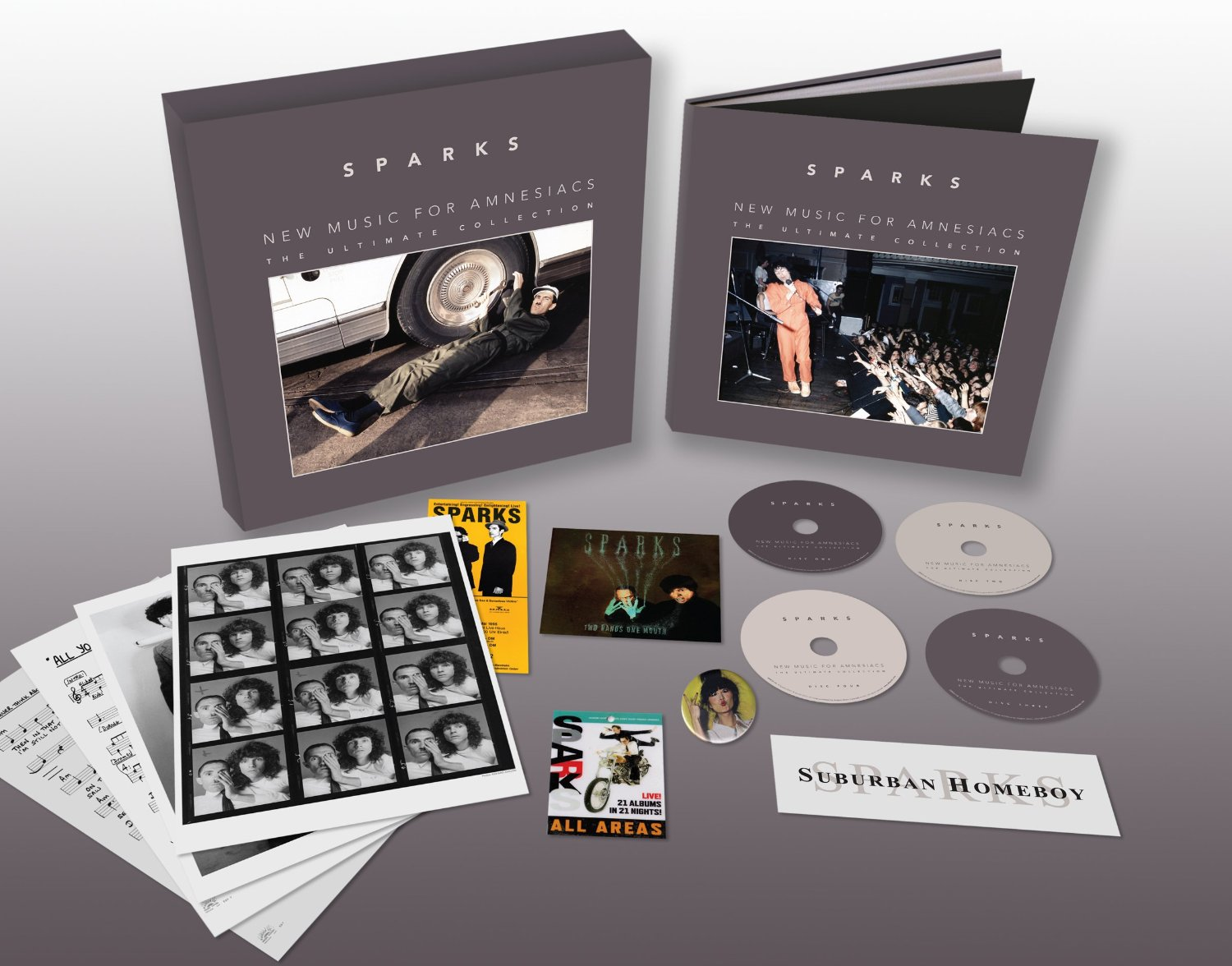 Sparks / New Music For Amnesiacs: The Ultimate Collection box set