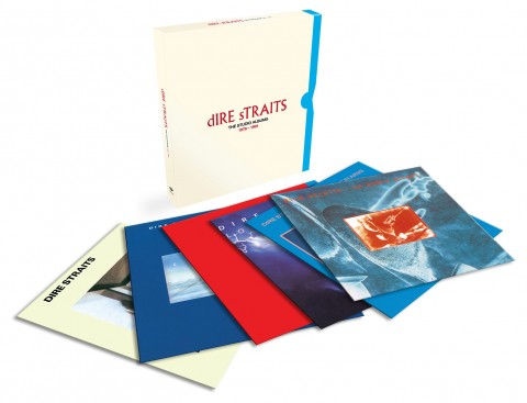Dire Straits / Studio Albums 1978-1991 vinyl box set artwork