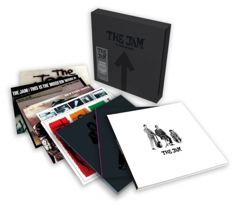The Jam / The Studio Recordings: 8LP career-spanning vinyl box