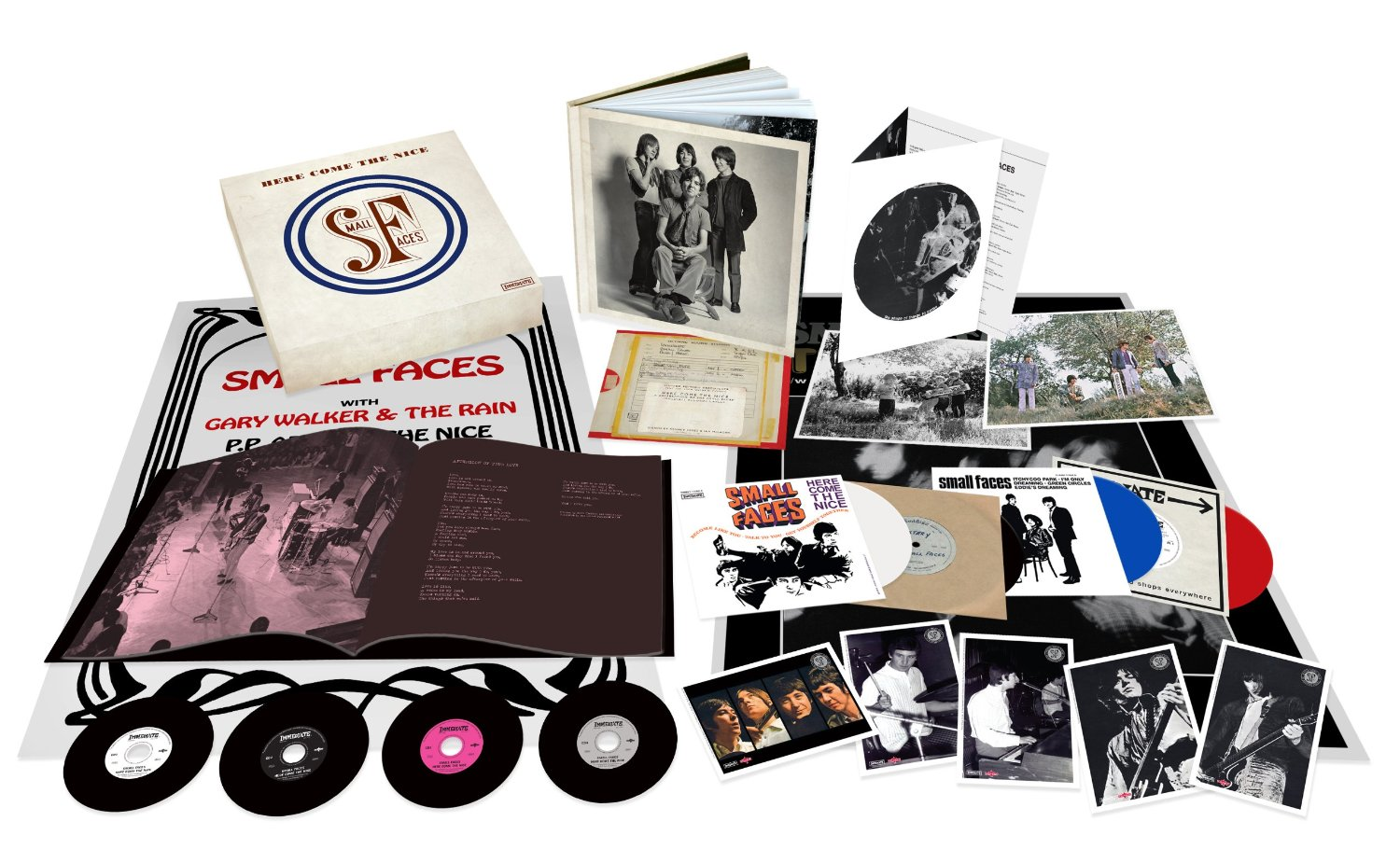 """The Small Faces / """"Here Comes The Nice: Immediate Years box 1967-69"""""""